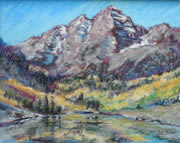 SOLD Maroon Bells 3, Pastl